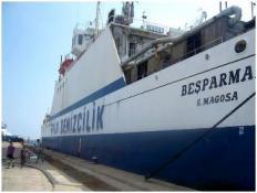 Limana izinsiz yanaşan gemi mahkemelik