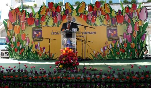 Lale Festivali Taksim'de Start Aldı
