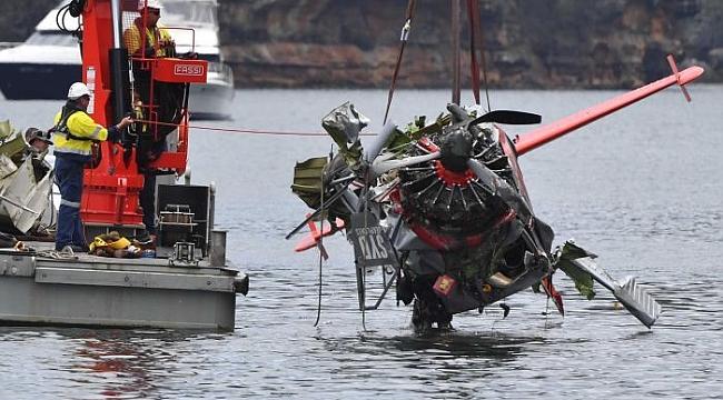 Avustralya'da düşen deniz uçağının enkazına ulaşıldı