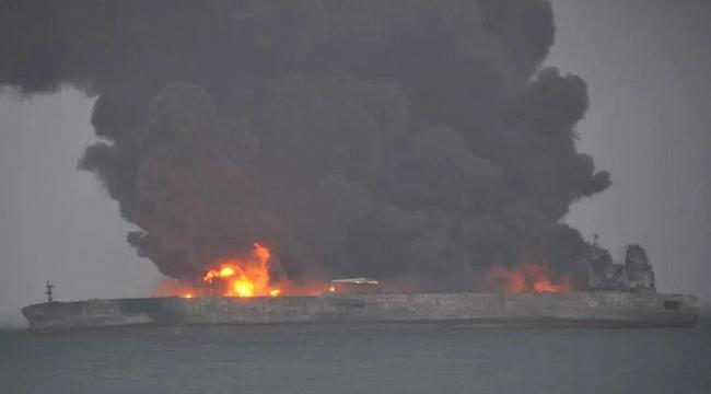 Çin kıyılarında iki gemi çarpıştı: 32 kayıp