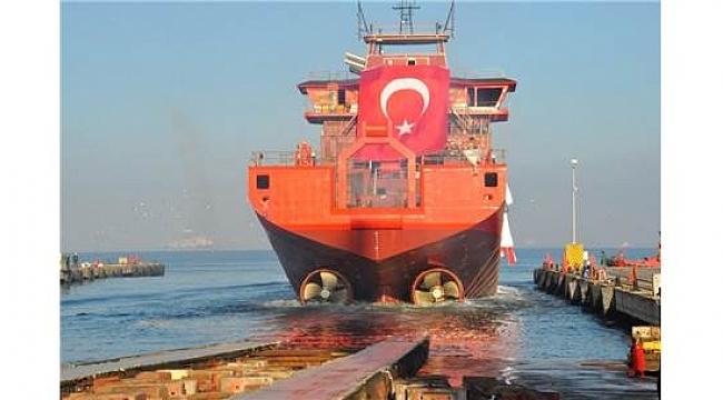 Danimarka'ya, Yalova'dan açık deniz destek gemisi