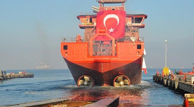 Danimarka'ya Yalova'dan açık deniz destek gemisi