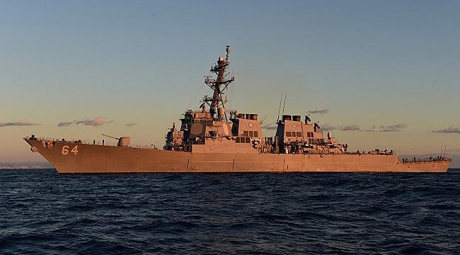 Amerika'nın ikinci destroyeri Carney Karadeniz'e girdi