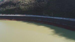 Sera Gölü'nün tartışmalara neden olan duvarı düzeltildi