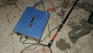 Balık avında kullanılan elektroşok ele geçirildi