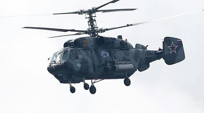 Baltık Denizi'nde helikopter düştü: 2 ölü