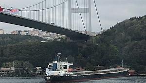 İstanbul Boğazında kaza... Dev dökme yük gemisi VITASPIRIT makine arızası yaptı. Yalıya çıktı