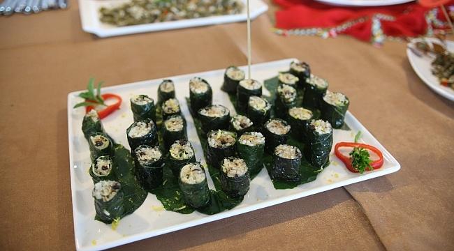 Japonların Suşisi'ne Giresun'un balıklı çiğ pancar sarması rakip oldu