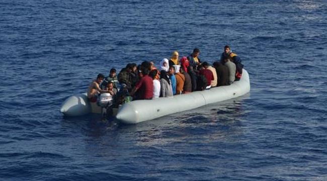 Kuşadası Körfezi ve Didim'de 167 kaçak göçmen yakalandı