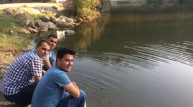 Tarsus'taki göletleri 10 bin sazan yavrusu bırakıldı