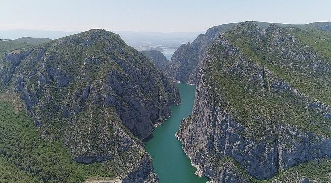 Türkiye'nin 2'nci büyük kanyonu turistlerin yeni gözdesi