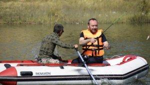 Olta balıkçılığı yarışmasının Türkiye finali Kırıkkale'de yapıldı
