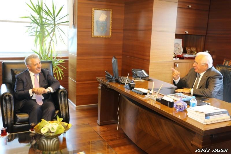 Deniz Ticaret Odası Bakan Arslan'ın Katılımı İle Toplandı