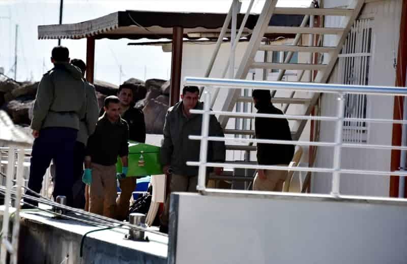 Ege Denizinde tekne battı: 7 Ölü