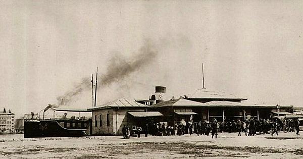 Kadıköy Vapur Seferleri ve İskeleler Tarihçe