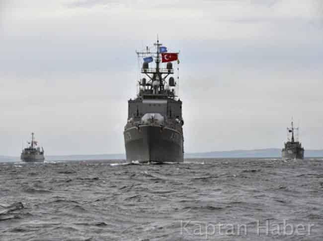 NATO Donanmasında Karadeniz'de Kuvvet Koordinasyonu Eğitimi