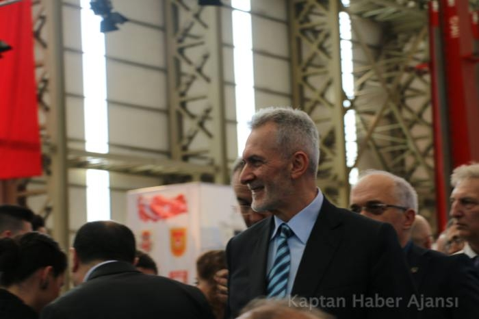 Kaptan Haber Ajansı'nın Objektifinden TCG Anadolu İnşa Başlangıç Töreni