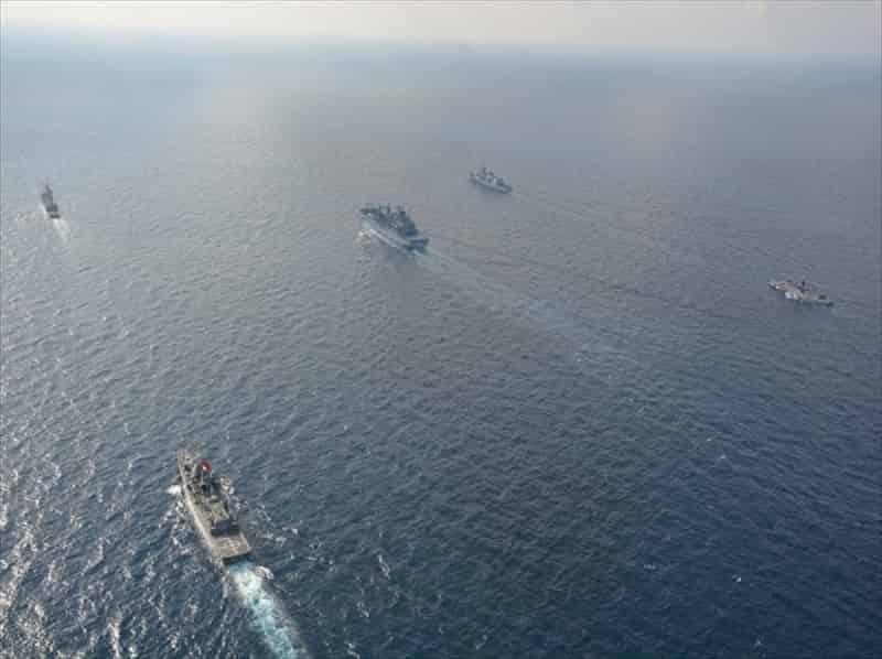 Doğu Akdeniz'de Deniz Tatbikatı
