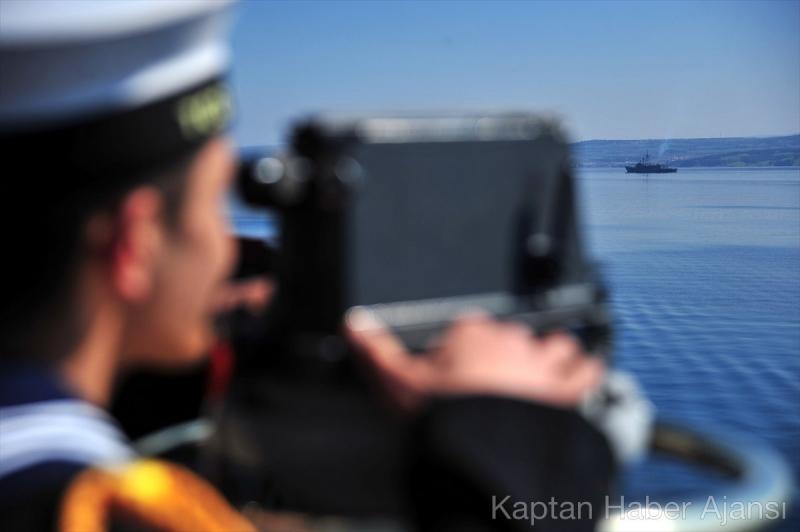 Deniz Kuvvetleri Çanakkale Geçit Töreninde
