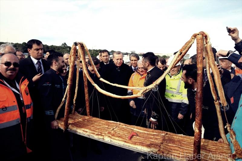 3. Köprü Son Tabliye Töreninden Özel Fotoğraflar