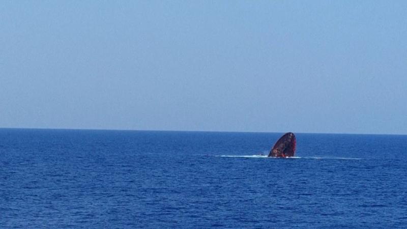 Murat Hacıbekiroğlu adlı gemi Alanya açıklarında battı