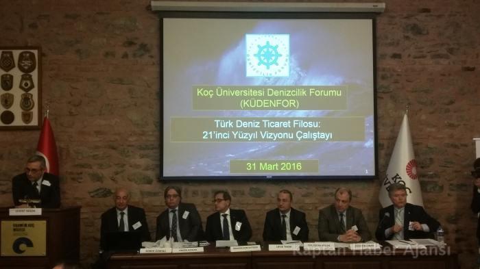 Türk Deniz Ticaret Filosu: 21. Yüzyıl Vizyonu Çalıştayı Yapıldı