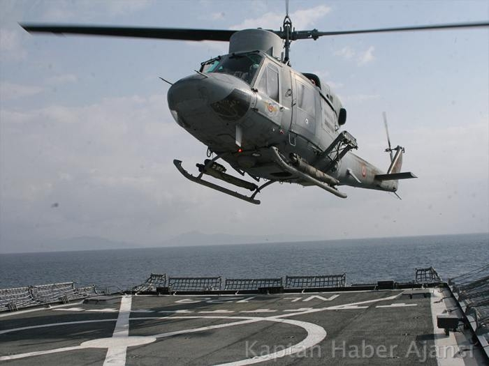 Deniz Kuvvetleri Komutanlığından taktik eğitimi
