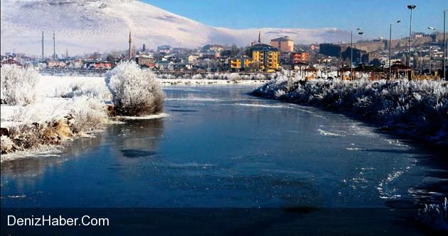 Ardahan'a Kış Geldi İşte O görüntüler