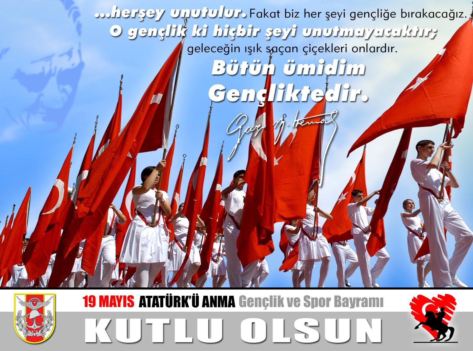 Atatürk'ü Anma, Gençlik ve Spor Bayramı - GÜNCEL - Kaptan Haber