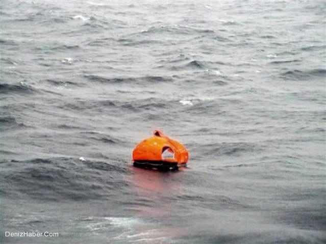 Yangın sonrası denizdeki insanların kurtarılma anları