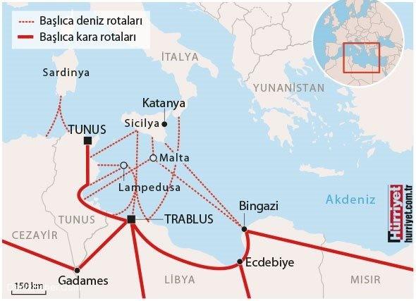 Akdeniz'deki göçmen facialarını önlemek için AB'den öneri