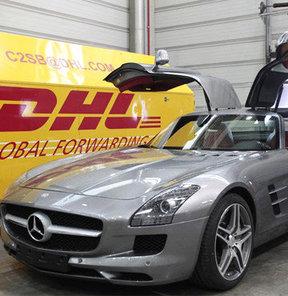 Mercedes, Gullwing için DHL ile anlaştı