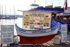 Bodrum'da Günübirlik Tur Teknecileri İsyanda