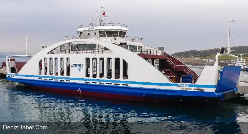 """MAVİ EGE"" Vapuru Denize İndirildi"