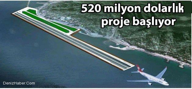 Rize-Artvin Havalimanı Çalışmaları Başlıyor