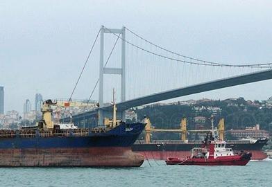 'Tankerler Boğaz'dan 'Altın Frank'la Geçecek'