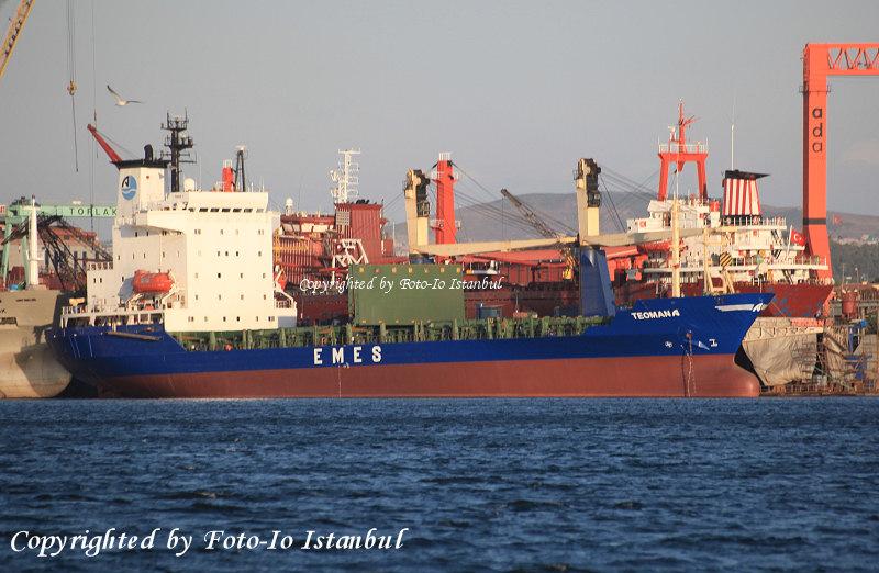 TEOMAN A Gemisini Arkas'tan Satın Aldı