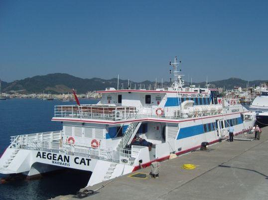 AEGEAN CAT ilk seferine çıktı...