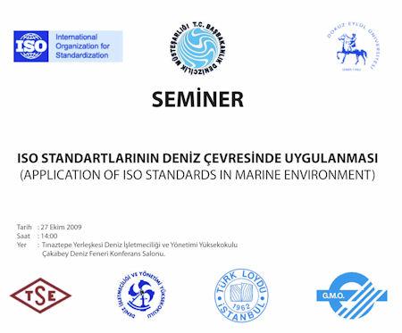 9 Eylül'de ISO Standartları Semineri