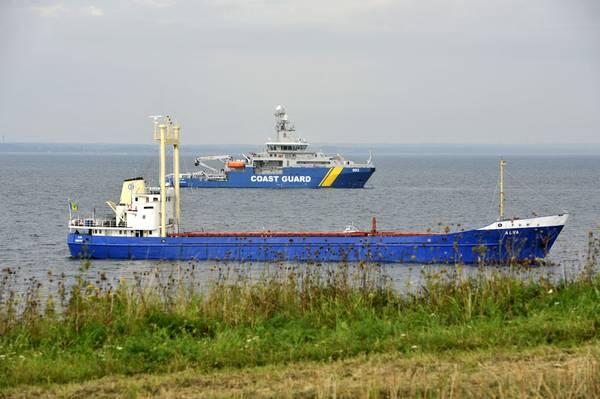 Sarhoş Kaptan Gemiyi Karaya Çıkardı
