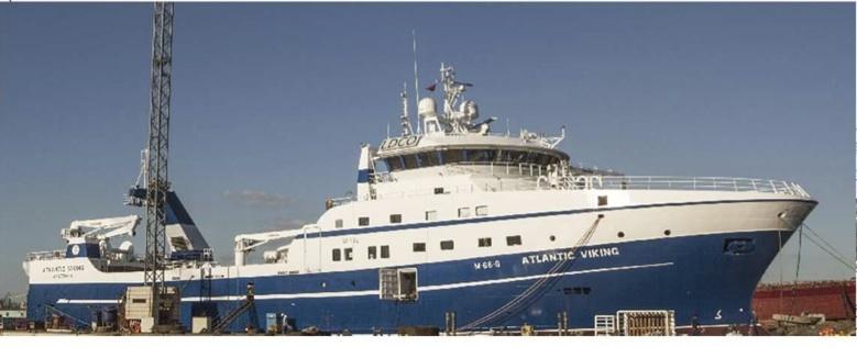 TERSAN, trol teknesini Norveçli armatöre teslim etti