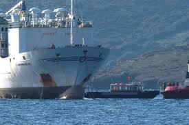 Bodrum Açıklarında Gemi Arızası