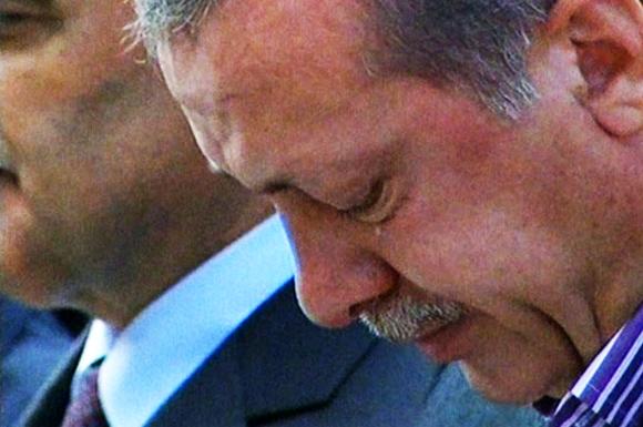Başbakan Erdoğan'ın Gözyaşları