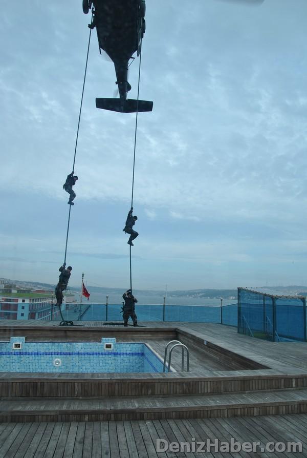 Galata Limanı Kurtarma Tatbikatı