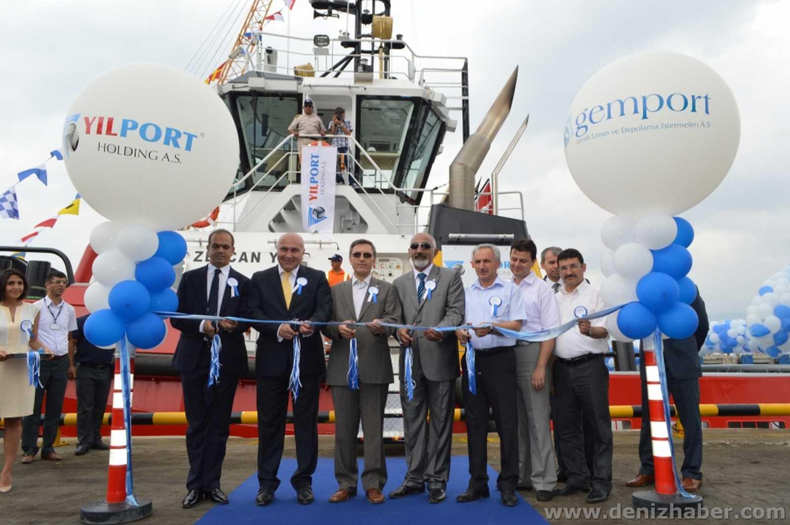 Gemport'a İlk Yatırım: Zeycan Y. Römorkörü