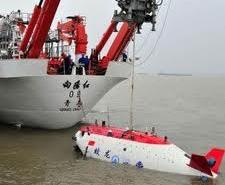 Çin'in İnsanlı Denizaltısı 7 Bin 100 Metreye Dalıyor