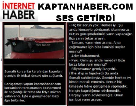 KaptanHaber.Com Fark Yarattı