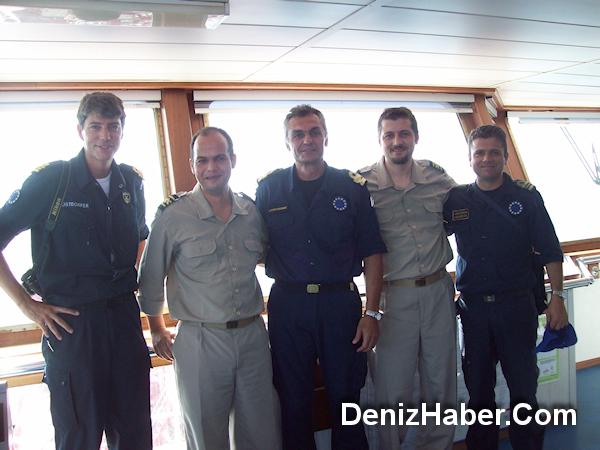 Yunan Savaş Gemisinden Karagöl'e Ziyaret