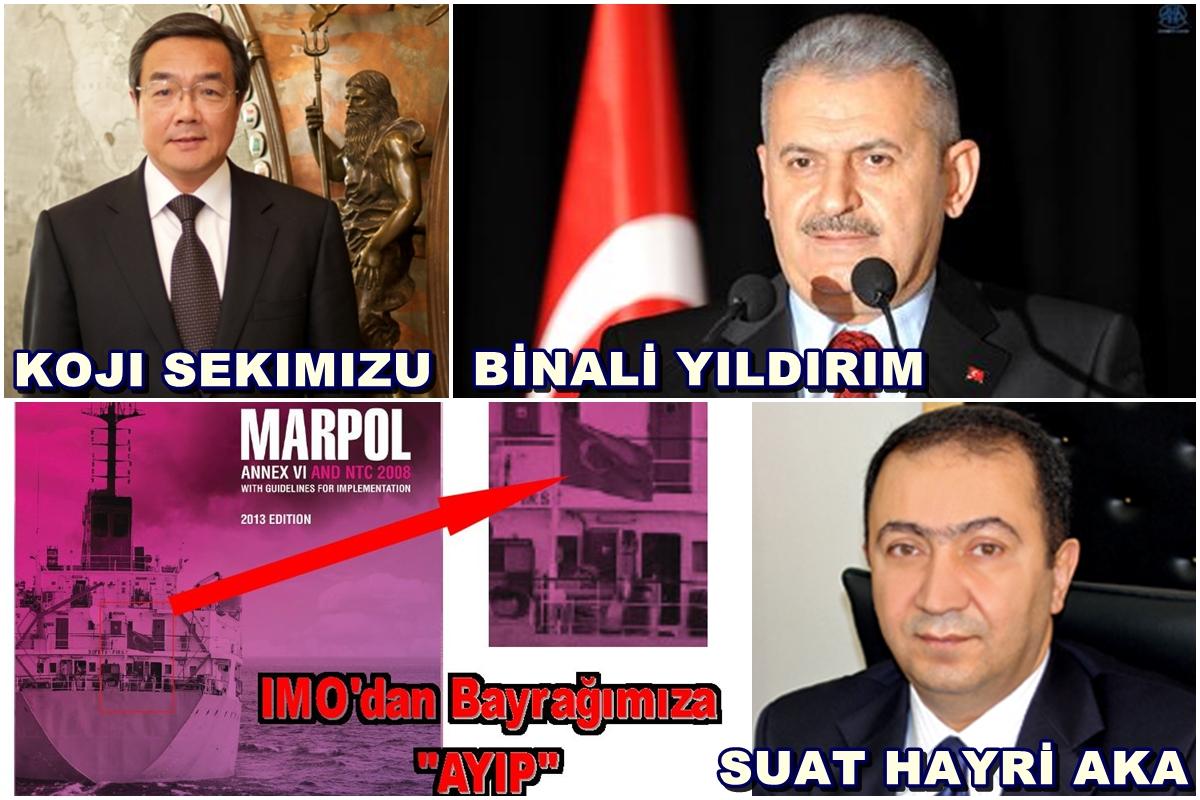 """Bayrak Skandalında IMO """"RESMEN"""" Özür Diledi"""