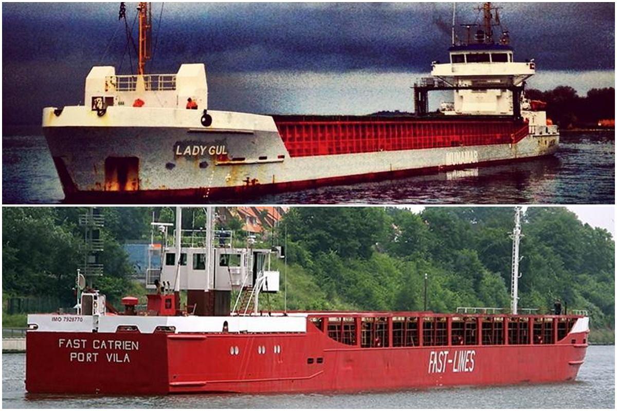 İki Türk gemisi Karadeniz'de çarpıştı